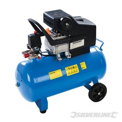 DIY 2Hp Air Compressor 1500W 50Ltr