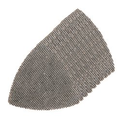 105mm Hook & Loop Mesh Triangle Sheets [4 x 40G, 4 x 80G, 2 x 120G] [Pack of 10]