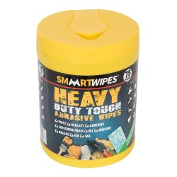 Heavy Duty Tough Abrasive Wipes  [Pack of 75]