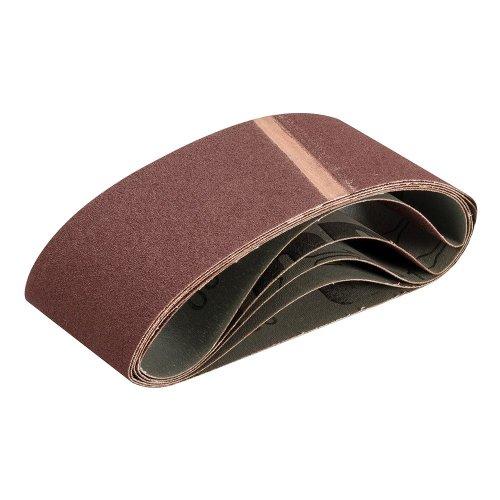 Sanding Belt 75 x 457mm 100 Grit [Pack of 5]