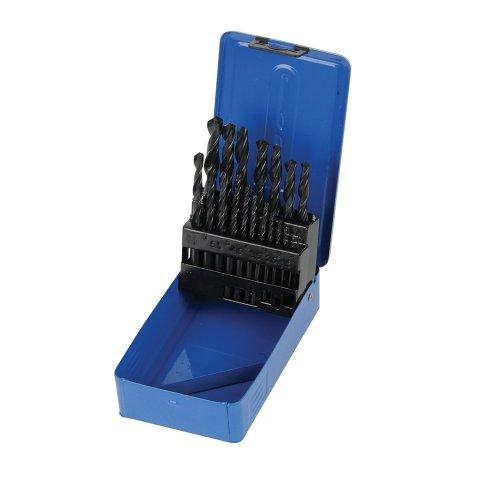 19Pce HSS-R Jobber Drill Bit Set 1 - 10mm
