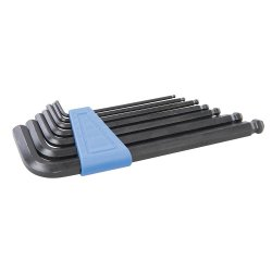 7Pce Hex Key Ball End Metric Set 2.5 - 10mm