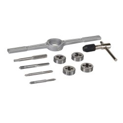 10Pce Tap & Die Set Metric