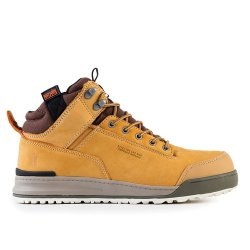 Switchback  Nubuck  Boots  -  Tan