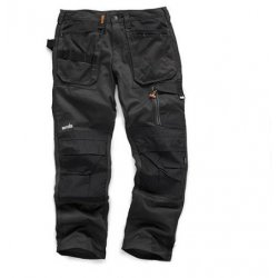 3D  Trade  Black  Trousers
