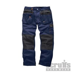 Worker  Plus  Trousers  Navy
