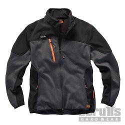 Trade  Tech  Sodtshell  Jacket  Charcoal
