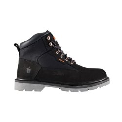 Twister  Nubuck  Boots  -  Black