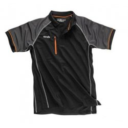 Trade  Active  Polo  Shirt  Black