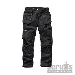 Trade  Flex  Trousers  Black