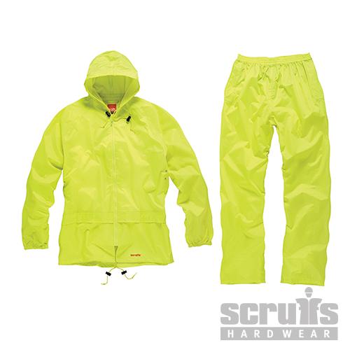 2-Piece  Waterproof  Suit  Yellow