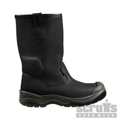 Gravity  Rigger  Boots  Black