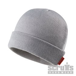 Knitted Thinsulate Beanie Grey