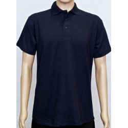 Polycotton Classic Navy Polo Shirt
