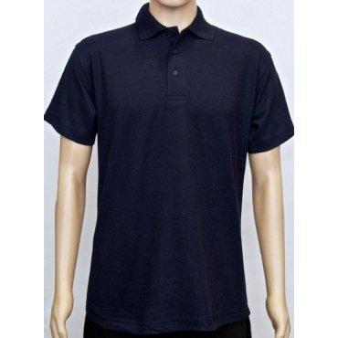Polycotton Classic Navy Polo Shirt