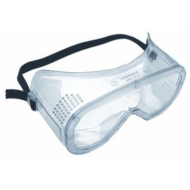 Polycarbonate Vented Safety Goggle Clear Lens