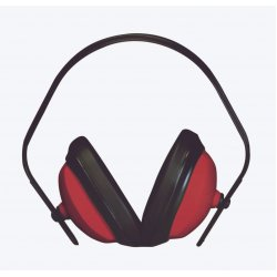 Keep Safe Sirocco Red Ear Defenders SNR25 EN352-1