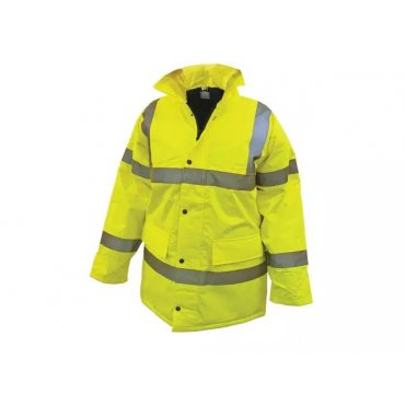 Yellow  Hi-Vis  Road  Safety  Jackets