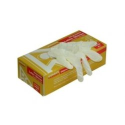 Latex Powdered Disposable Clean Grip Gloves