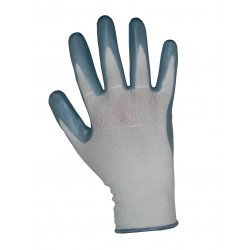 Keep Safe Nitrile Foam Coated Knitted Wrist Gloves