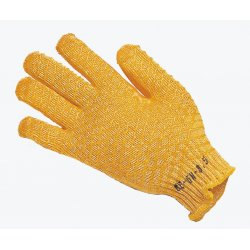 Keep Safe 'Fit and Grip' Orange PVC Lattice High Grip Gloves