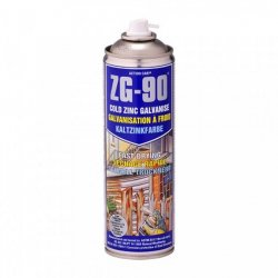 ZG90  Zinc  Galvanise  Anti-Rust  Spray  Paint