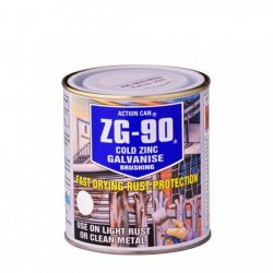 ZG90  Zinc  Galvanise  Brush  On  Application