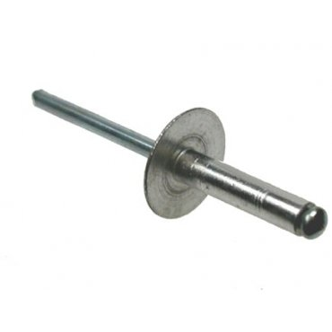 Aluminium  Body  Steel  Mandrel  Open  Type  Large  Flange  Rivets